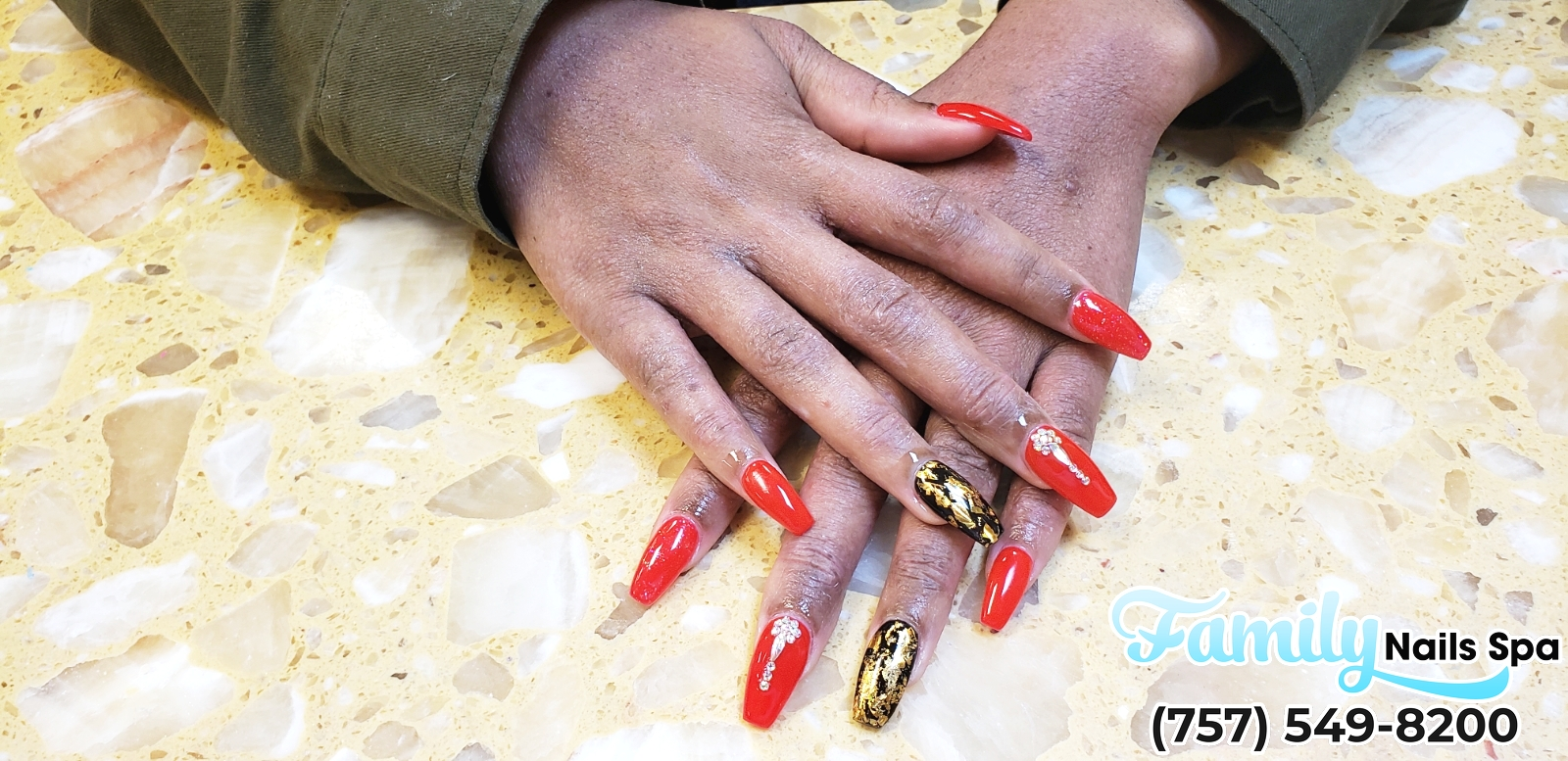 Family Nails Spa | Best nail salon in Chesapeake VA 23320